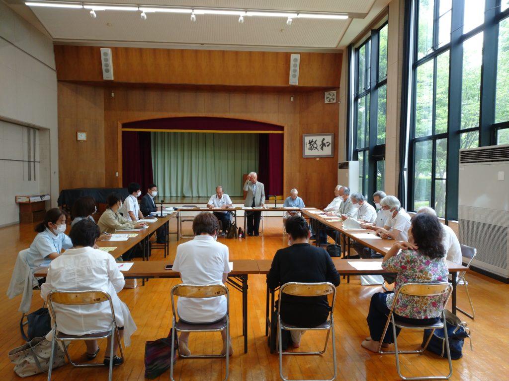 地域支援ネットワーク委員会の開催の挨拶